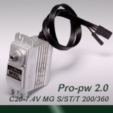 light  200° travel Professional digital MIBL (pulse width 1.0~2.0ms) MG servo