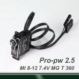 MI 360° travel-professional digital (pulse width 0.5~2.5ms) MG servo
