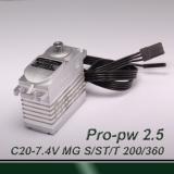 light 200° travel Professional digital MIBL (pulse width 0.5~2.5ms) MG servo
