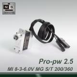 Mini 200° travel-professional digital magnetic encoding (pulse width 0.5~2.5ms) MG servo