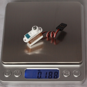 0.70kg.cm 0.07sec/60° @7.4V 5.4g